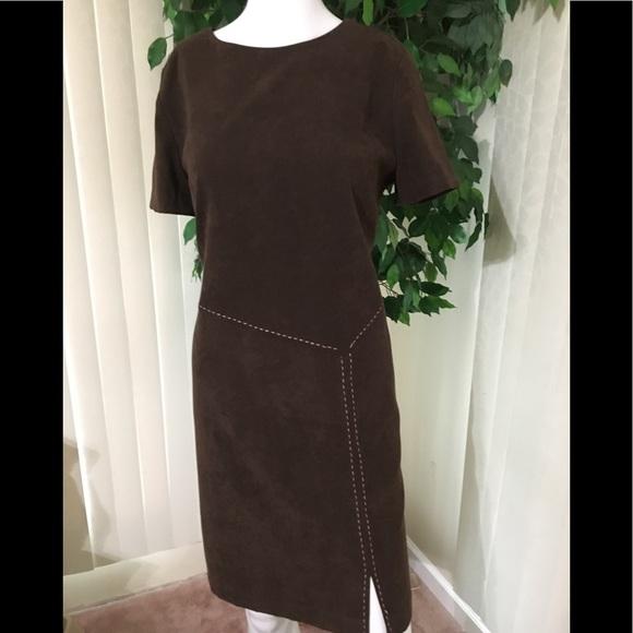 9c712c00abc8e R&K Dresses | Faux Suede Dress | Poshmark